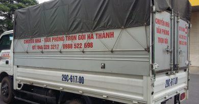 Chuyển nhà trọn gói giá rẻ chất lượng tại Hà Nội