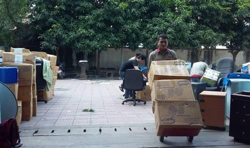 Công ty dịch vụ chuyển văn phòng Hà Nội uy tín