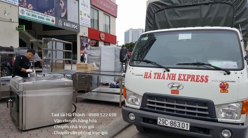 Vận chuyển hàng bằng xe tải 3.5 tấn