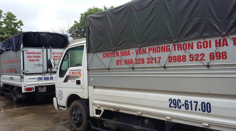 Bạn cần xe chở hàng trong nội thành Hà Nội và đi tỉnh?