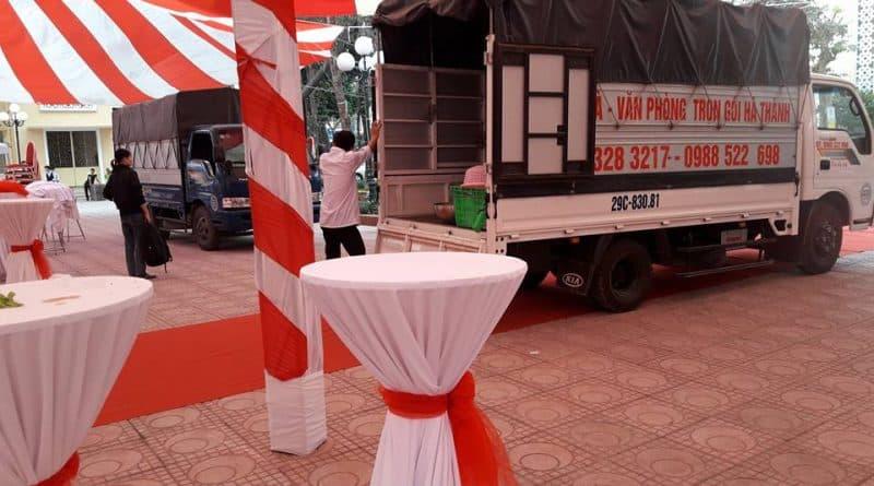 Dịch vụ xe tải chở hàng tại Hà Nội và liên tỉnh