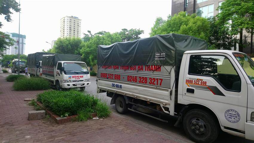 Dàn xe tải Công ty Hà Thành
