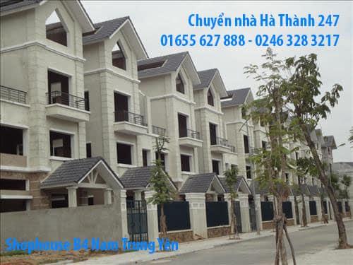 Chuyển nhà trọn gói Hà Nội tại Nam Trung Yên