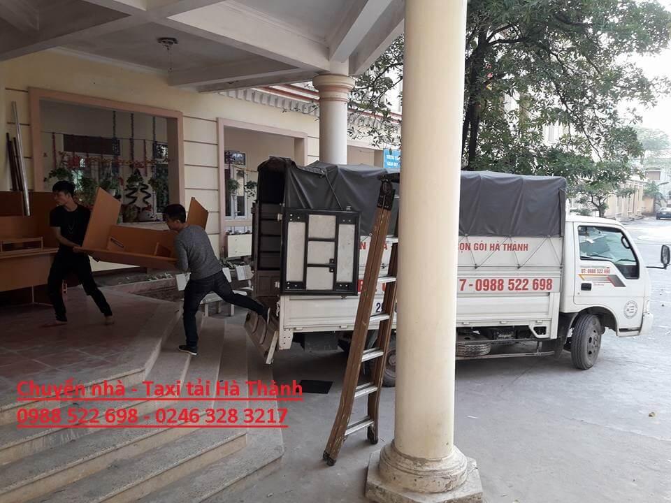 Nhân viên chuyển nhà Hà Thành nhiệt tình