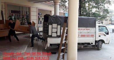 Dịch vụ taxi tải Hà Nội - Giá rẻ - Chất lượng
