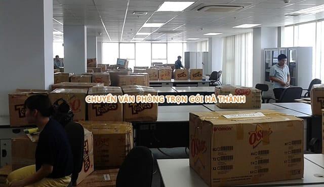 Công ty Hà Thành chuyển văn phòng