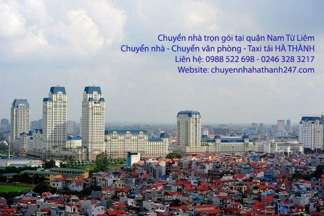 Chuyển nhà trọn gói Hà Nội tại quận Nam Từ Liêm