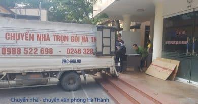 Chuyển văn phòng trọn gói Hà Thành