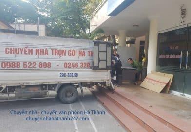 Dịch vụ chuyển văn phòng cho Công ty tư vấn đầu tư phố Chùa Láng, Đống Đa, Hà Nội